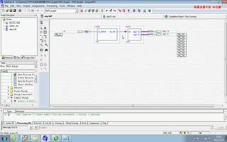 使用FPGA DIY控制板实现数码管动态显示功能