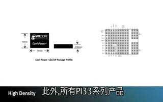 系统级封装的Picor Cool-Power® ZVS 降压稳压器PI33XX系列