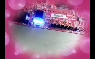 采用Sakura实验板实现呼吸灯功能过程