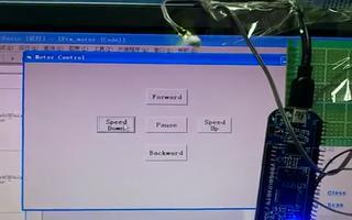 通过 RL78/G13 开发板实现上位机的正反转...