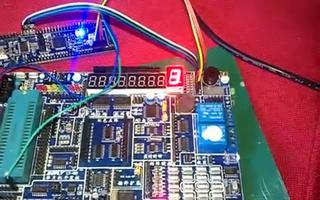 介绍 RL78/G13 驱动单个共阳数码管显示