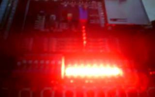 采用FPGA DIY开发板实现拨码开关控制LED亮灭