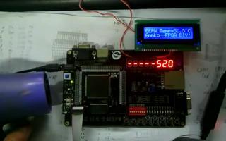 通过FPGA DIY开发板实现DS18B20的LCD显示