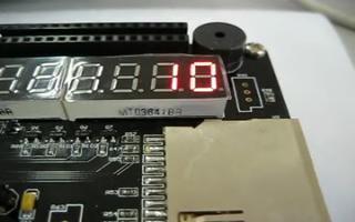 采用 FPGA DIY 开发板设计一个模为60的计数器