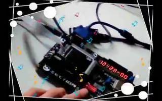 利用FPGA DIY开发板实现数字时钟数码管显示