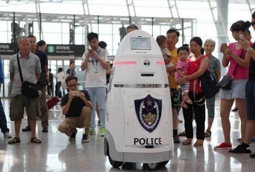 机器人巡警上线,也你的眼前一亮