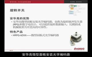 安华高科技在汽车领域的产品