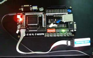 通过 FPGA-DIY 开发板实现 LED 跑马灯