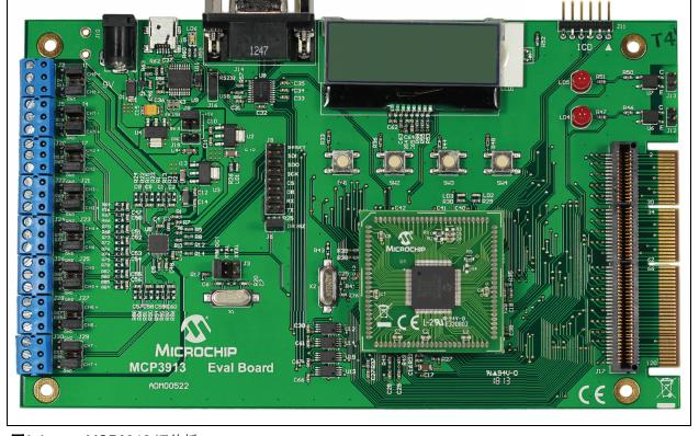 用于16位MCU的MCP3913 ADC评估板详细中文资料概述