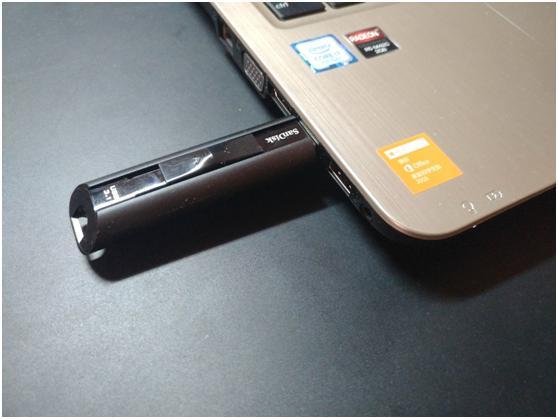 DataLock安全加密便携存储设备,可通过蓝牙技术提供数据锁保护功能