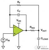 通过一个小型放大器和四个无源元件实现200 mW负载