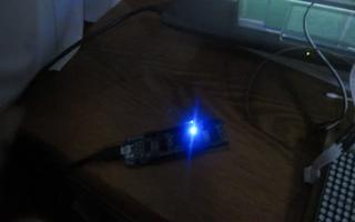 采用 RL78/G13 开发板控制实现呼吸灯功能过程