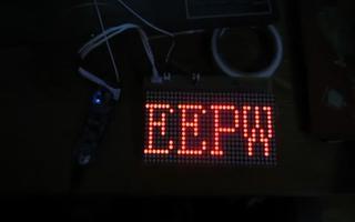 采用 RL78/G13 控制实现点阵显示
