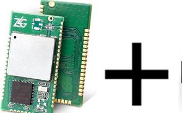 利用无线模块+测温模块的多节点无线测温方案
