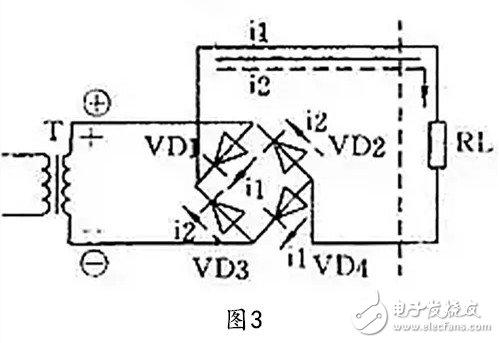 整流电路四种电路图设计