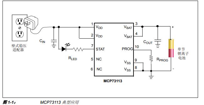 MCP73113 OVP 单节锂离子电池充电器评估板的详细中文资料概述