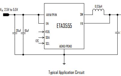 ETA3555同步降压开关稳压器的详细英文数据手册免费下载