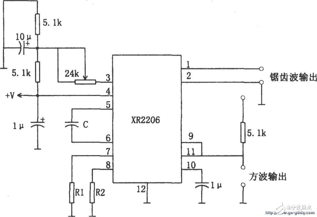 方波和锯齿波振荡电路设计