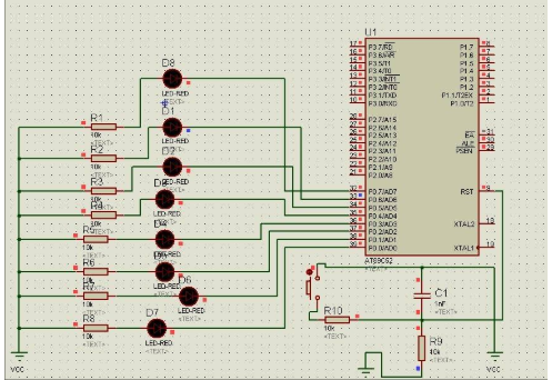 LED8位流水灯Verilog编程和应用程序的详细资料概述