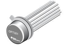 OPT301 采用密封封装的集成光电二极管和放大...