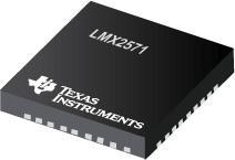 LMX2571 LMX2571 采用 FSK 调制的低功耗合成器