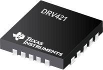 DRV421 具有集成磁通门传感器的 5 V、闭...