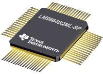 LM98640QML-SP 具有 LVDS 输出的双通道、14 位、40 MSPS 模拟前端
