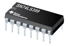 SN74LS399 具有存储器的四路 2 输入多路复用器