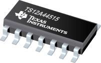 TS12A44515 低导通电阻四路 SPST ...