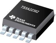 TS5A22362 具有负信号功能的 0.65Ω 双通道 SPDT 开关