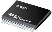 MUX507 MUX50x 36V 低电容、低电荷注入、精密模拟多路复用器