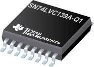 SN74LVC139A-Q1 汽车类二路 2 线路至 4 线路解码器/多路解复用器
