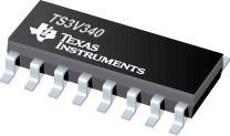TS3V340 具有低而平坦的導通電阻的四路 S...