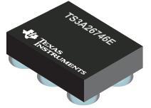 TS3A26746E 2 X 2 交叉点开关,用于音频应用
