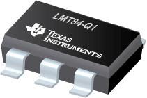 LMT84-Q1 具有 AB 类输出的 LMT84-Q1 - 1.5V、SC70、多增益模拟温度传感器