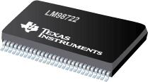 LM98722 具有 LVDS/CMOS 输出和集成 CCD/CIS 传感器定时发送器的 3 通道 16 位 45 MSPS AFE