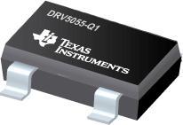DRV5055-Q1 汽车类高精度 3.3V 或 5V 比例式双极霍尔效应传感器系列