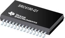 SRC4190-Q1 汽车类 192kHz 立体声异步采样速率转换器