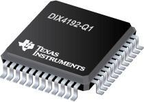 DIX4192-Q1 汽车类集成式数字音频接口接收器和变送器