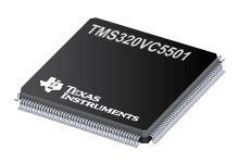 TMS320VC5501 定點數字信號處理器