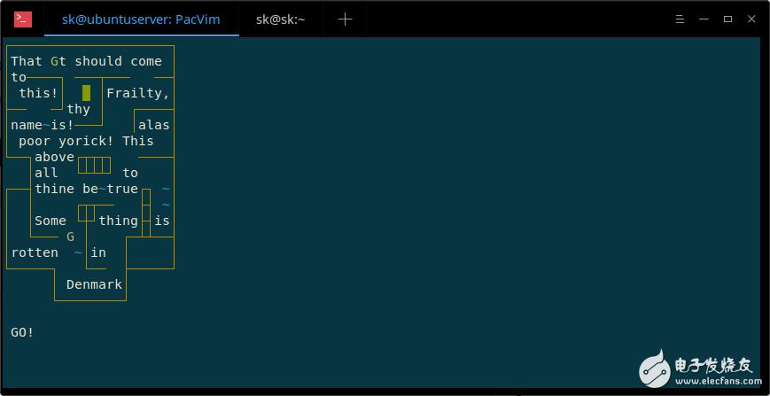 Vim 的使用技巧—Vim 命令行游戲