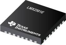 LMX2581E LMX2581E 具有集成 VCO 的宽带频率合成器