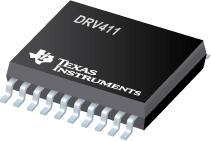 DRV411 用于闭环磁流传感器的传感器信号调节...