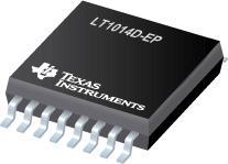 LT1014D-EP 增强型产品四路精密运算放大...