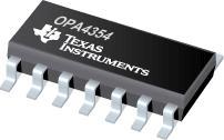 OPA4354 250MHz 轨至轨 I/O C...