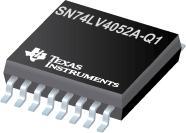 SN74LV4052A-Q1 汽車類雙路 4 通...