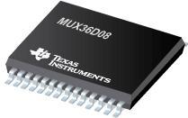 MUX36D08 36V、低电容、低电荷注入、高...