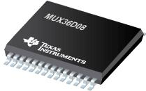 MUX36D08 36V、低电容、低电荷注入、高精度模拟复用器