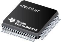 ADS1278-HT 高温四路/八路同步采样 24 位模数转换器