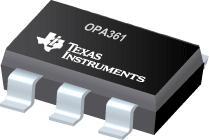 OPA361 具有内部增益和滤波器的 3V 视频...